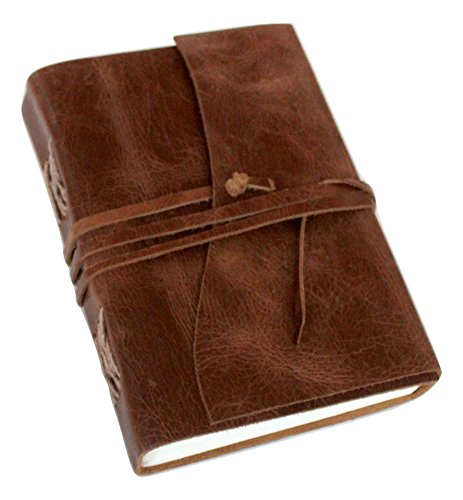 Antique Dark Brown Leather Journal Diary (Handmade)-Leather Cord Coptic Bound 25% Off Sale + Special Offer Now!