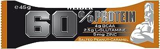 Weider 30927-1 60% Protein Bar, Gusto Arachidi-Caramello Salato - Barretta da 45G