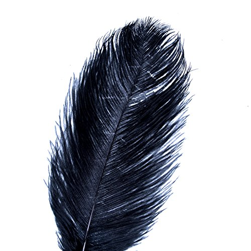 AWAYTR 20-22 inch (50-55cm) Ostrich Feathers Plume for Centerpieces Home Decoration