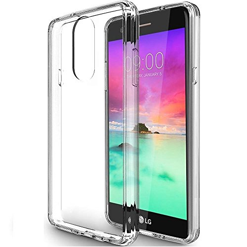 SKTGSLAMY for LG Stylo 4 Case, LG Stylo 4 Plus/LG Q Stylus/LG Stylus 4 Case Clear, Scratch Resistant TPU Rubber Soft Skin Silicone Protective Case Cover for LG Stylo 4 (Clear)