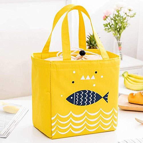 FZYE Cool Bag Cooler Bag Bolsa de Picnic Bolsa de Entrega de Alimentos Bolsa de Hielo para Picnic con Aislamiento Bolsa de Hielo Impermeable para el Almuerzo Bolsa de Hielo térmica para