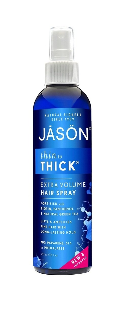 Jason Thin-to-Thick Extra Volume Hair Spray Japan Price reduction Maker New 3 Ounce Pack of 8