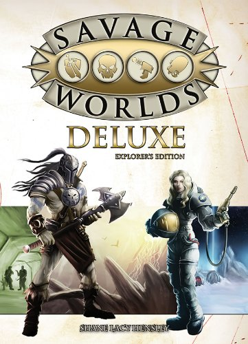 Savage Worlds Deluxe: Explorer's Edition (S2P10016)
