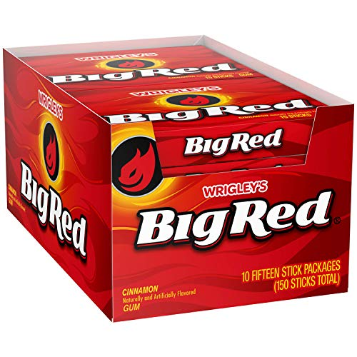 Wrigley's Big Red, Pack of 10