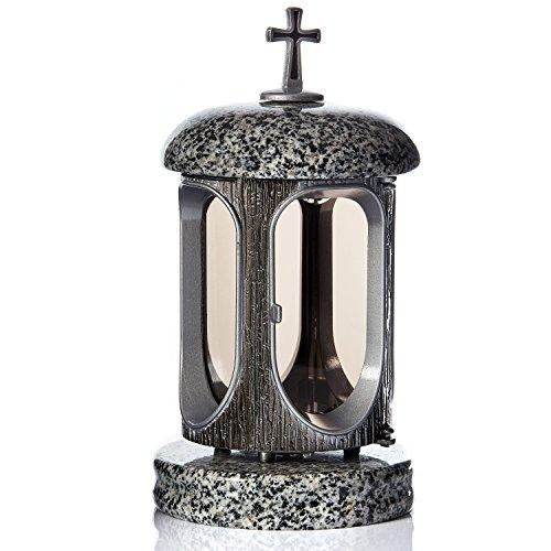 Grande lanterne funéraire en granit pour hommage funéraire Décoration de cimetière