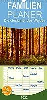 Die Gesichter des Waldes - Familienplaner hoch (Wandkalender 2022 , 21 cm x 45 cm, hoch): Natur in Deutschland (Monatskalender, 14 Seiten )