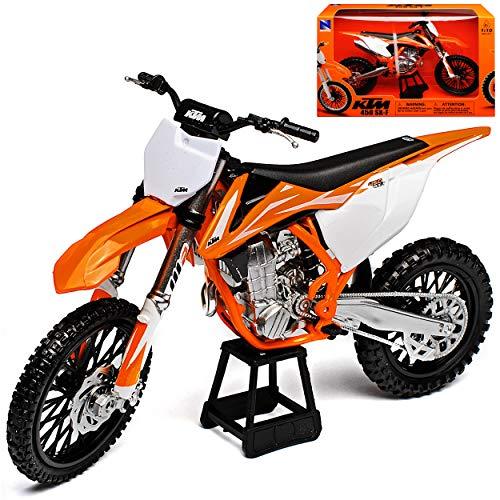 New Ray K-T-M 450 SX-F 2017 Supercross-WM Enduro 1/10 Modell Motorrad