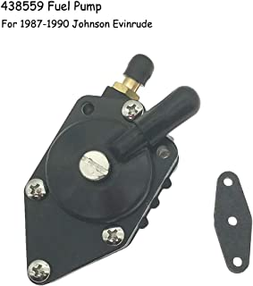 438559 Fuel Pump for 1987-1990 Johnson Evinrude 100 105 115 125 135 140 HP Engine Replace 385784 395712 398385 433390