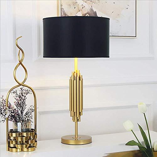YANQING Duurzame Postmoderne Landelijke Stijl Hardware Lamp Lichaam Zwart Lampenkap Creatieve Persoonlijkheid Slaapkamer Woonkamer Bureau Decoratie Lamp 36 * 70cm Licht Up Leven
