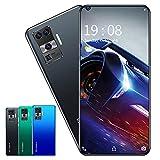 RUBAPOSM Desbloquear Smartphone, Teléfono Móvil de Red Dual SIM 3G, Desbloqueo Facial Inteligente, Cámara HD 2MP + 5MP, Batería 2300 Mah, Versión Global,Negro