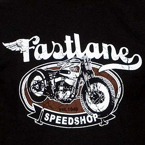Camiseta de fastlane Speed Shop, Bobber Chopper Biker, S de 2x l