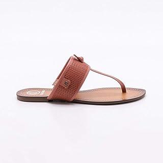 b41d4b6188 Moda - Marrom - Rasteirinhas   Calçados na Amazon.com.br