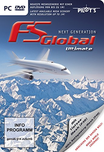 FS Global: Ultimate Next Generation (PC DVD) - [Edizione: Regno Unito]