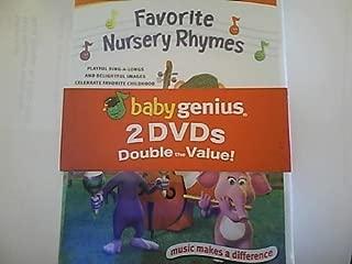 Favorite Nursery Rhymes & Underwater Adventures by Pacific Ent by Baby Genius
