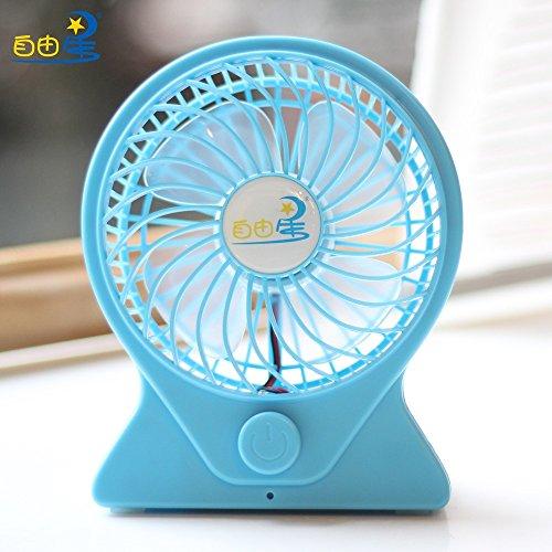 Mini USB ventilatore elettrico per la regolazione della velocità della ventola elettrica di precarica la ventola, blu
