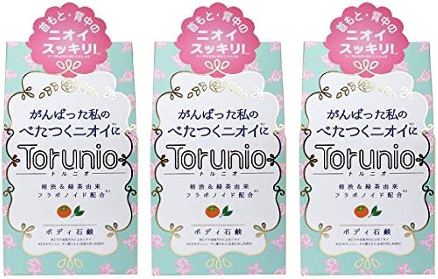 アライメント用心誘惑【まとめ買い】Torunio(トルニオ)石鹸 100g【×3個】