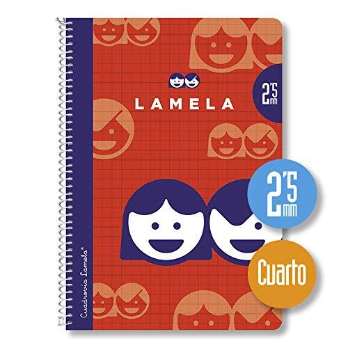 Paquete 10 Cuaderno Basico Lamela 4º 40H 2,5 Mm