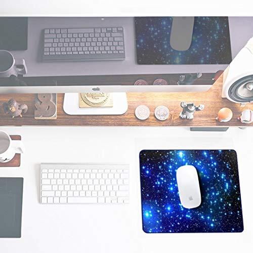 Sidorenko Gaming Mauspad | Mousepad | spezielle Oberfläche verbessert Geschwindigkeit und Präzision | Fransenfreie Ränder | rutschfest | Blau