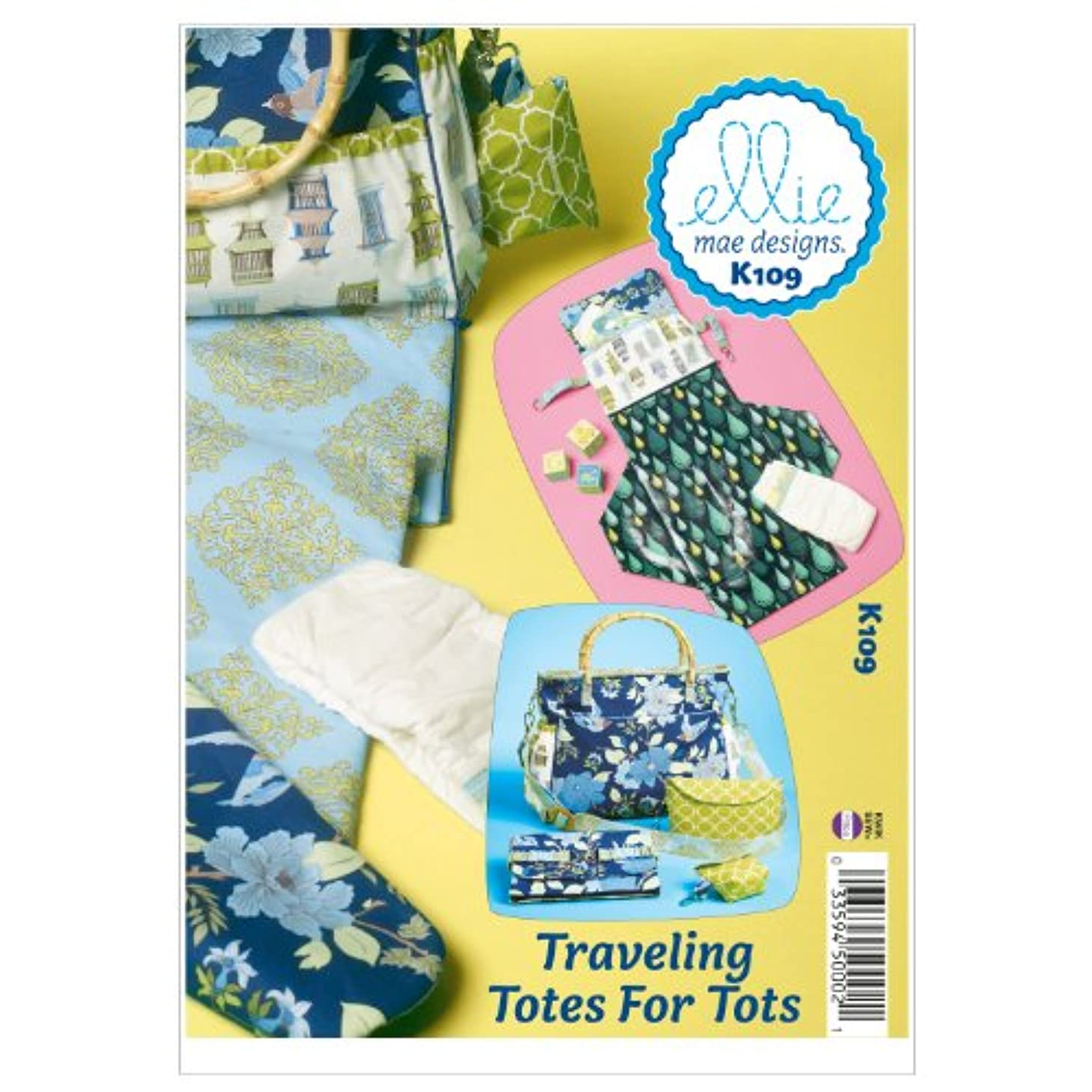 Kwik Sew K0109 Traveling Totes for Tots Sewing Pattern