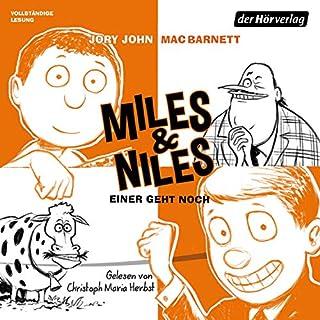 Einer geht noch     Miles & Niles 4              Autor:                                                                                                                                 Jory John,                                                                                        Mac Barnett                               Sprecher:                                                                                                                                 Christoph Maria Herbst                      Spieldauer: 3 Std. und 21 Min.     5 Bewertungen     Gesamt 4,4