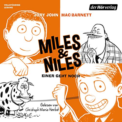 Einer geht noch     Miles & Niles 4              By:                                                                                                                                 Jory John,                                                                                        Mac Barnett                               Narrated by:                                                                                                                                 Christoph Maria Herbst                      Length: 3 hrs and 21 mins     Not rated yet     Overall 0.0