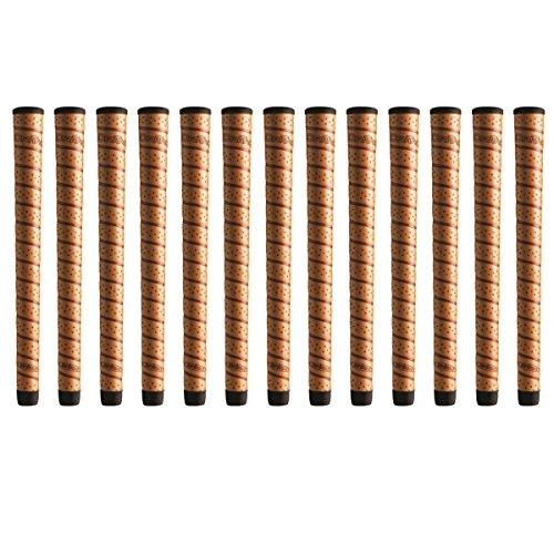 "Winn DriTac Wrap Midsize +1/16"" Copper Golf Grip Bundle (13 Piece)"