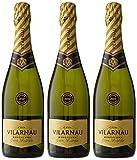 Vilarnau Gran Reserva Brut Vintage - D.O. Cava - 3 Botellas de 750 ml - Total : 2250 ml