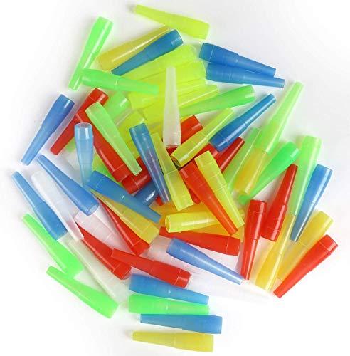 WowoHK 100 x Shisha Hygiene Mundstücke Kunststoff Einweg Hygienemundstück Wasserpfeife Zubehör Universal (100 STK)