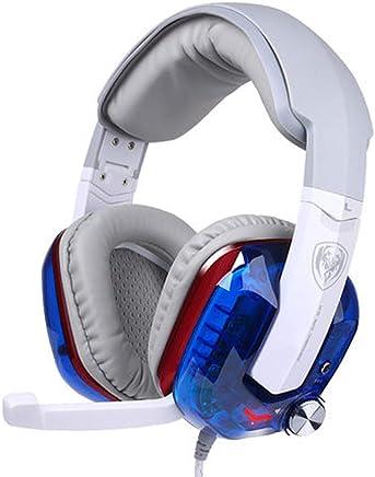 USB Gaming Headset - Dolby 7.1 Surround Sound Cuffie, Auricolare Stereo di Gioco per PS4, PC, Xbox Un Controller, Rumore annulla sopra Le Cuffie dell'orecchio con Il Mic,-Blue - Trova i prezzi più bassi