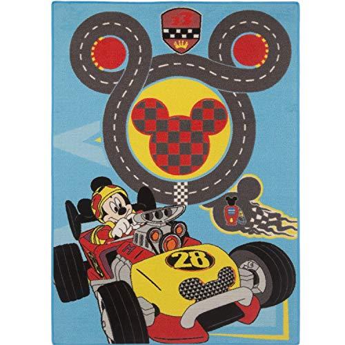 AWE ASSOCIATED WEAVERS Le tapis Mickey Number 28 95 x 133 cm tapis de jeu, multicolore