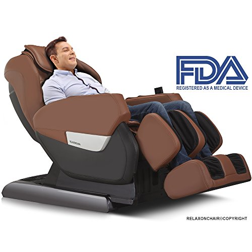 RELAXONCHAIR MK-IV Full Body Zero Gravity Shiatsu Massage...