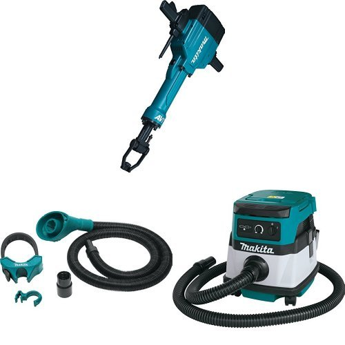 Read About Makita HM1810 70 lb. AVT Breaker Hammer, 197172-1 Dust Extraction Attachment, 1-1/8-Inch ...