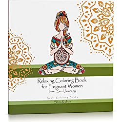 This Coloring Book Celebrating Moms Features 70 Pages Of Yoga And Mandala Based Designs For You To Color On Nice Thick Paper