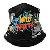 Best& Wild Kratts Premium Tube Scarf for Men and Women, Bandana, Mouth Guard, Multifunctional Scarf, Face Mask, Tube Scarf for Motorcycle, Elastic and Breathable.
