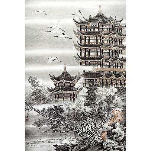 JW-MZPT Tengwangge Legno per Adulti Puzzle, Giocattolo educativo dei Bambini del Mondo Famosa Serie Pittura Puzzle,2000pieces