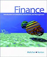 Finance: Introduction to Institutions, Investments and Management 0324004303 Book Cover