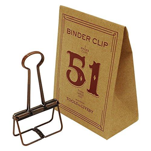 BINDER CLIP/バインダークリップ 51 TTLB【ブロンズ】 TL020-BZ
