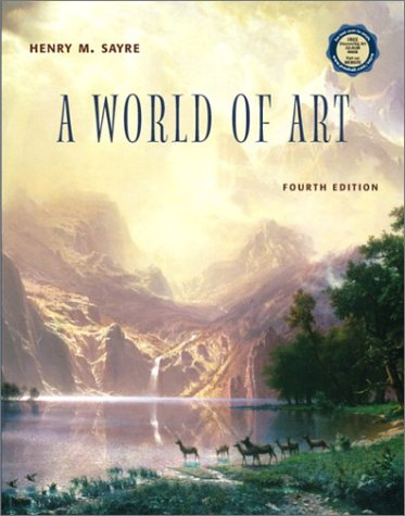 A World of Art with CD-ROM (4th Edition)