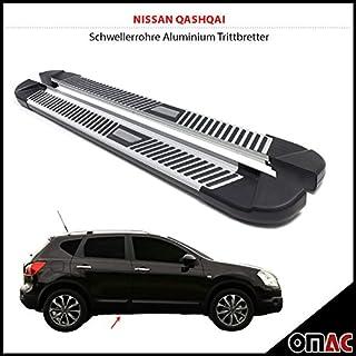 Battitacchi batticalcagno in acciaio satinato  Nissan Juke
