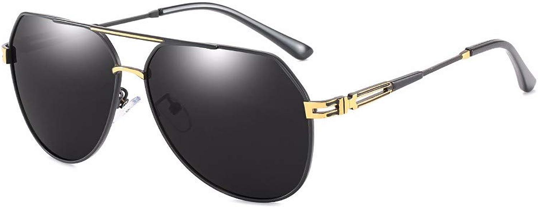 ed4b40686b07 NDFSE-sunglasses Polarizer Men's Metal Bi-beam Pilot Pilot Pilot Sunglasses  Driving Glasses 0d22e4
