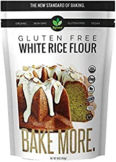 Big Green Organic Food- Organic White Rice Flour, Gluten-Free, Kosher, Artisan Baking (3)