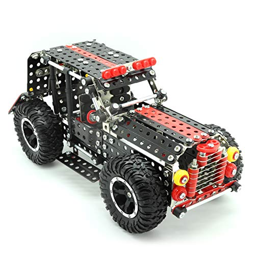 STEM Building & Learning Toys | 4x4 Metal Car...