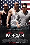 Pain and GAIN - Mark Wahlberg – US Imported Movie Wall