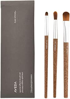 AVEDA Flax Sticks Special Effects Brush Set (05 Eye Smudger + 06 Eye Contour+08 Complexion)