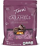 Tara's Small Batch Dark Chocolate Covered Sea Salt Soft Caramels, Individually Wrapped, 3 Lbs (approx 60Piece),, 48 Ounce