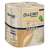 64x Toilettenpapier'EcoNatural', 2-lagig, Fiberpack, Havanna, 250 Blatt/Rolle
