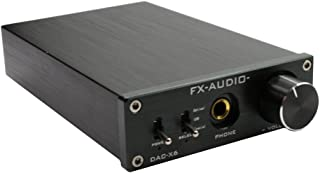 FX Audio DAC-X6Hi-Fi Optical/coaxial/USB Digital Audio Amplifier DAC Decoder Black