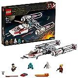 LEGO Star Wars TM - Caza Estelar Ala-Y de la Resistencia, Juguete de...