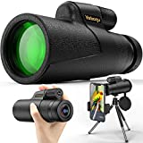 Best Monoculars - Monocular Telescope, 12x50 High Power HD Monocular Review