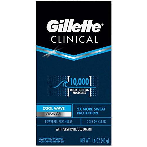 Gillette Clinical Clear Gel Cool Wave Anti-Perspirant/Deodorant 1.6 oz